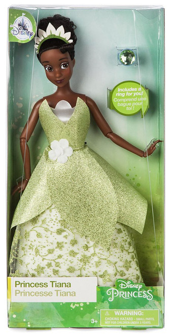 Disney Princess The Princess & The Frog Classic Princess Tiana Exclusive 11.5-Inch Doll [with Ring]