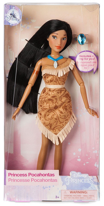Disney Princess Classic Princess Pocahontas Exclusive 11.5-Inch Doll [With Ring]