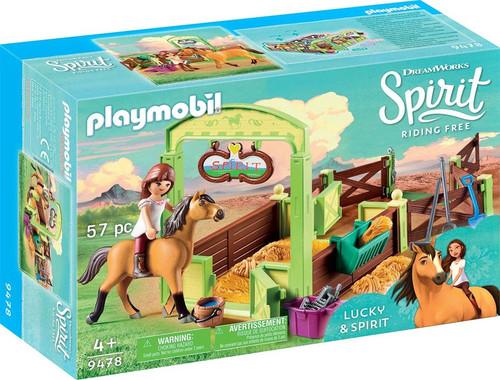 Playmobil Spirit Riding Free Horse Box Lucky & Spirit Set #9478