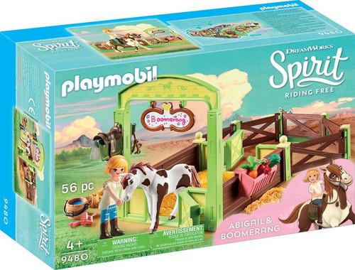 Playmobil Spirit Riding Free Abigail & Boomerang Set #9480
