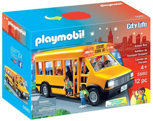 Playmobil City Life School Bus Set #5680