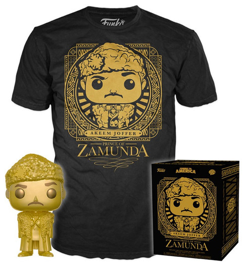 Funko Coming to America POP! Movies Akeem Joffer Prince of Zamunda Exclusive Vinyl Figure & T-Shirt [Small]