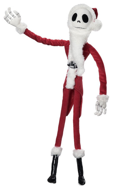 Disney The Nightmare Before Christmas Jack Skellington Sandy Claws Exclusive 27-Inch Plush Figure