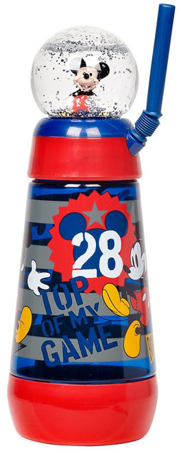 Disney Mickey Mouse Snowglobe Exclusive Tumbler with Straw