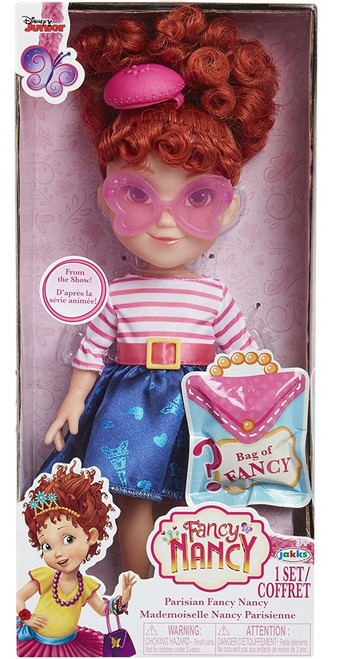 Disney Junior Fancy Nancy Parisian Doll [Bag of Fancy]