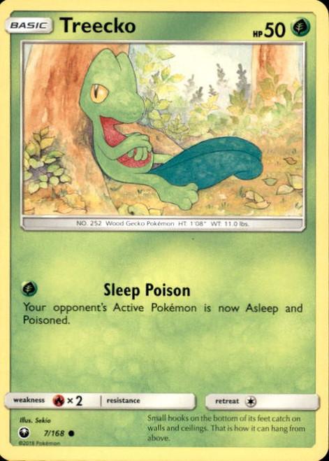 Pokemon Trading Card Game Celestial Storm Common Treecko #7