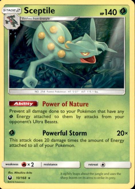 Pokemon Trading Card Game Celestial Storm Rare Sceptile #10