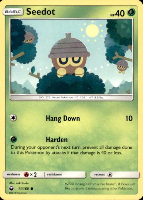 Pokemon Trading Card Game Celestial Storm Common Seedot #11