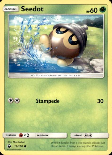 Pokemon Trading Card Game Celestial Storm Common Seedot #12