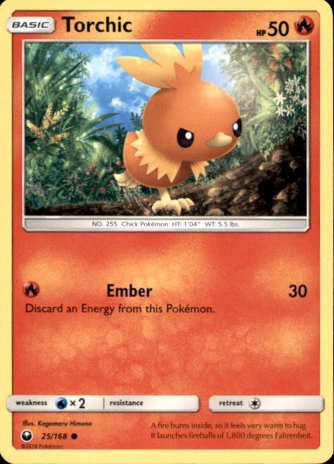 Pokemon Trading Card Game Celestial Storm Common Torchic #25