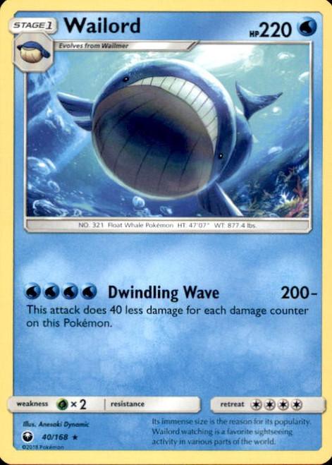 Pokemon Trading Card Game Celestial Storm Rare Wailord #40