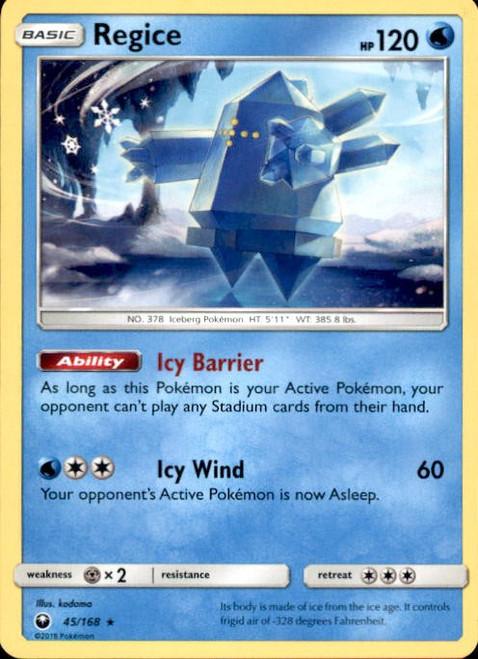 Pokemon Trading Card Game Celestial Storm Rare Regice #45
