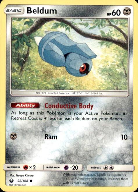 Pokemon Trading Card Game Celestial Storm Common Beldum #92
