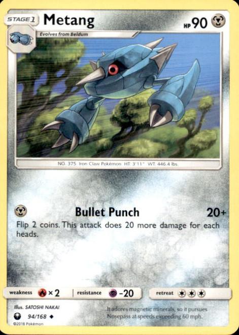 Pokemon Trading Card Game Celestial Storm Uncommon Metang #94