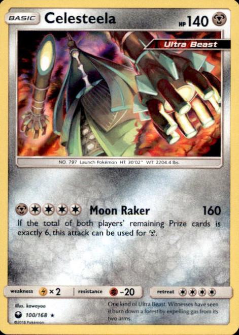 Pokemon Trading Card Game Celestial Storm Rare Holo Celesteela #100