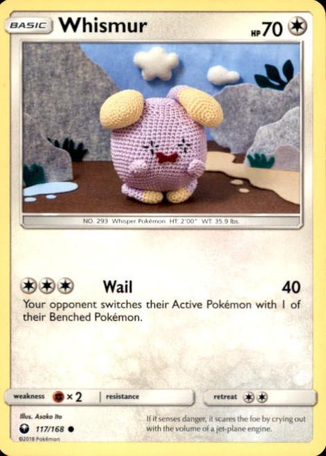 Pokemon Trading Card Game Celestial Storm Common Whismur #117