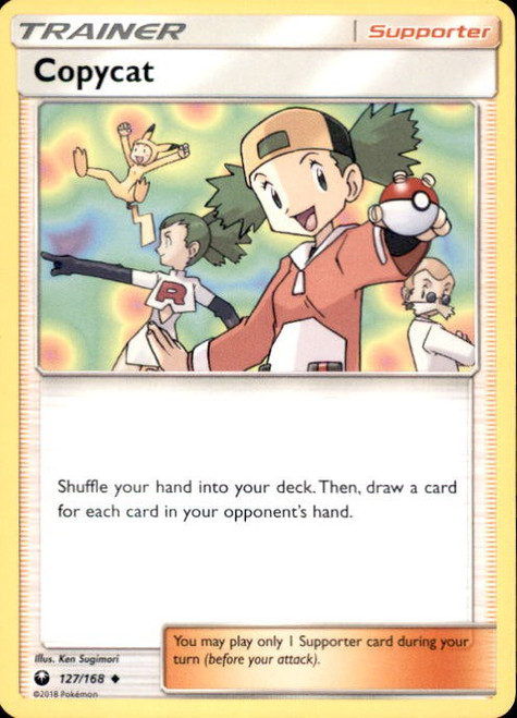 Pokemon Trading Card Game Celestial Storm Uncommon Copycat #127