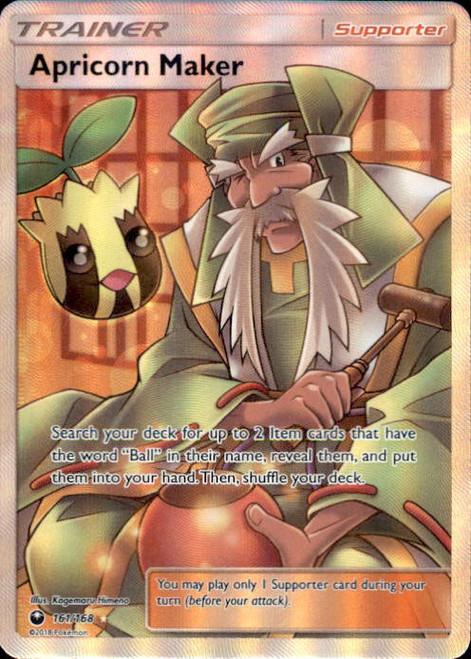 Pokemon Trading Card Game Celestial Storm Ultra Rare Apricorn Maker #161