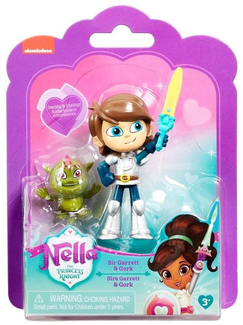Nickelodeon Nella The Princess Knight Sir Garrett & Gork 3.5-Inch Figure
