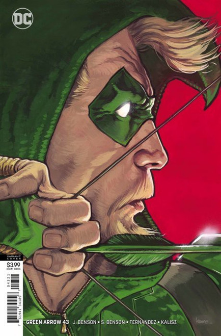 DC Green Arrow #43 Comic Book [Kaare Andrews Variant Cover]