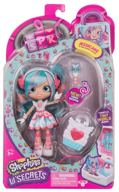 Shopkins Shoppies Lil' Secrets Jessicake Doll Figure