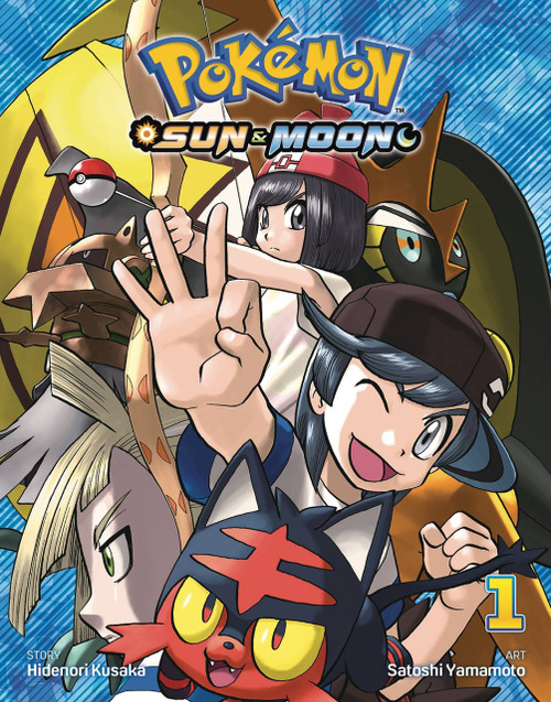 Viz Media Pokemon Sun & Moon Volume 1 Manga Trade Paperback