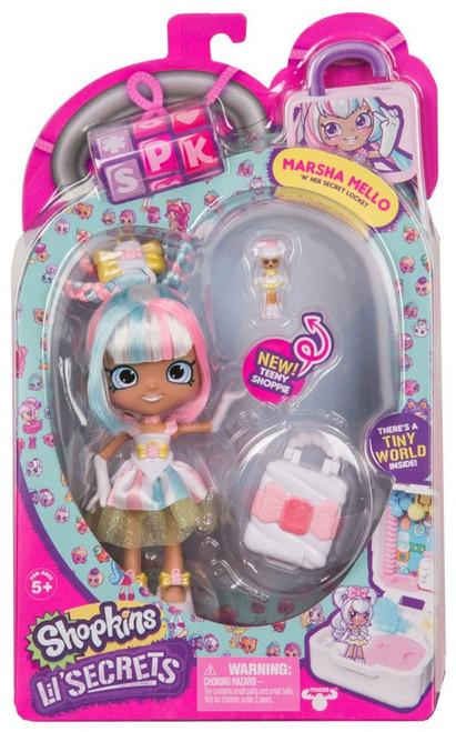 Shopkins Shoppies Lil' Secrets Marsha Mello Doll Figure
