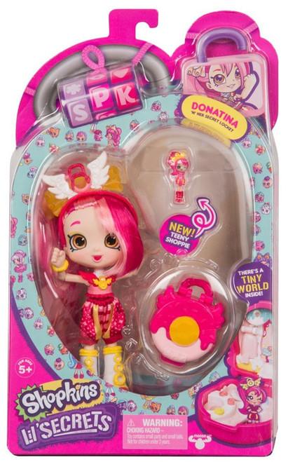 Shopkins Shoppies Lil' Secrets Donatina Doll Figure
