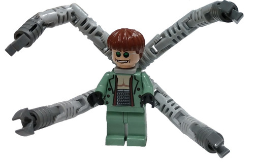 LEGO Marvel Super Heroes Doc Ock Minifigure [Toothy Smile Loose]