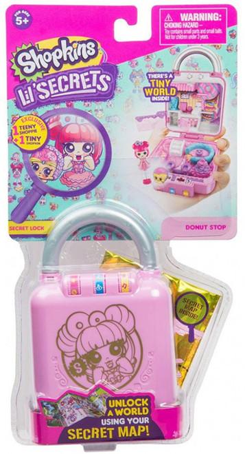 Shopkins Lil' Secrets Series 1 Donut Shop Mini Playset [Secret Lock]