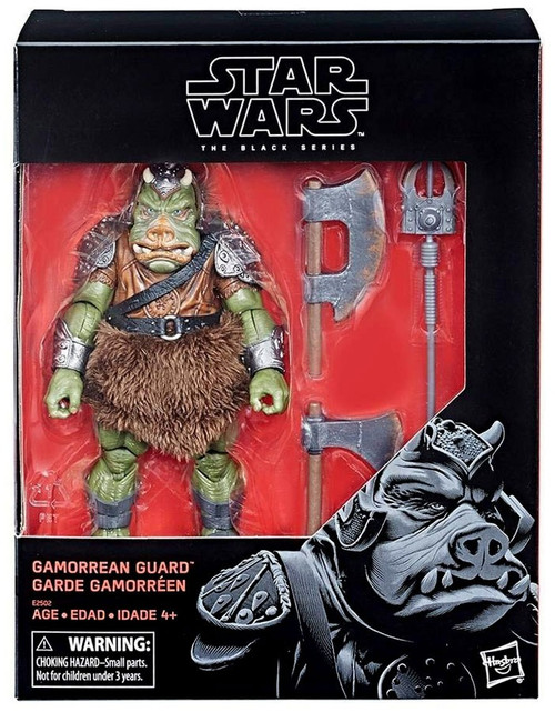 Star Wars Return of the Jedi Black Series Gamorrean Guard Exclusive Action Figure (Pre-Order ships January)