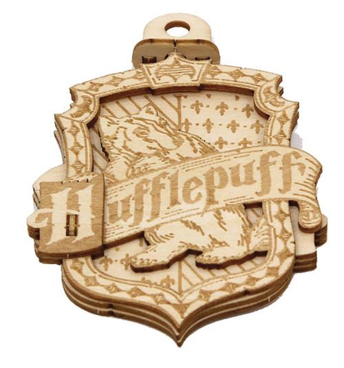 Harry Potter Incredibuilds Emblematics Hufflepuff Wooden Puzzle Sculpture
