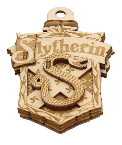 Harry Potter Incredibuilds Emblematics Slytherin Wooden Puzzle Sculpture