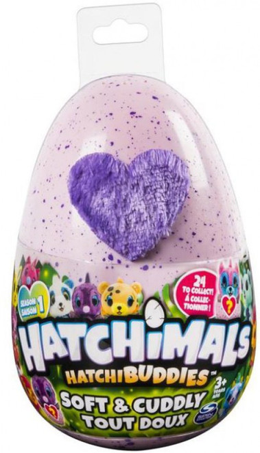 Hatchimals HatchiBuddies Season 1 Soft & Cuddly Plush 6-Inch Mystery Pack