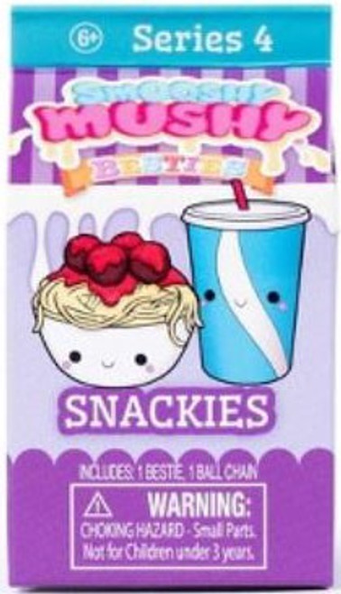 Smooshy Mushy Besties Series 4 Snackies Mystery Pack [Purple]