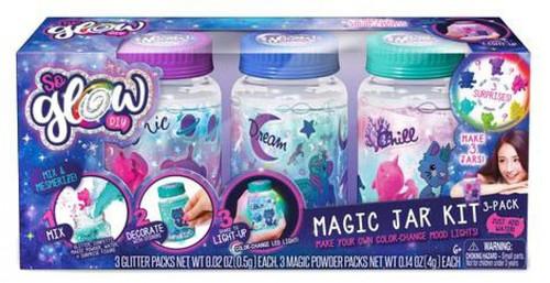 So Glow DIY Mini Magic Jar Kit 3-Pack [Cool]