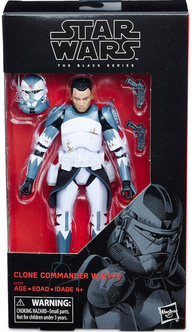 Star Wars The Clone Wars Black Series Clone Commander Wolffe Action Figure [6 Inch] (Pre-Order ships January)