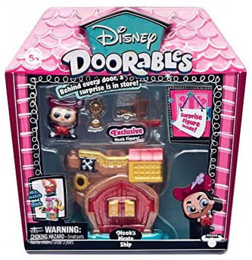 Disney Doorables Hook's Pirate Ship Mini Display Set [Peter Pan]