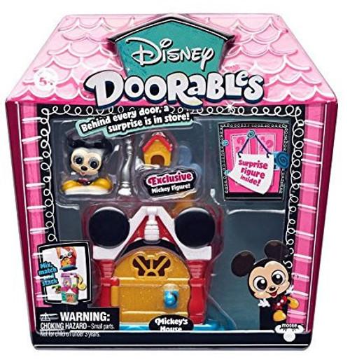 Disney Doorables Mickey's House Mini Display Set [Mickey & Friends]
