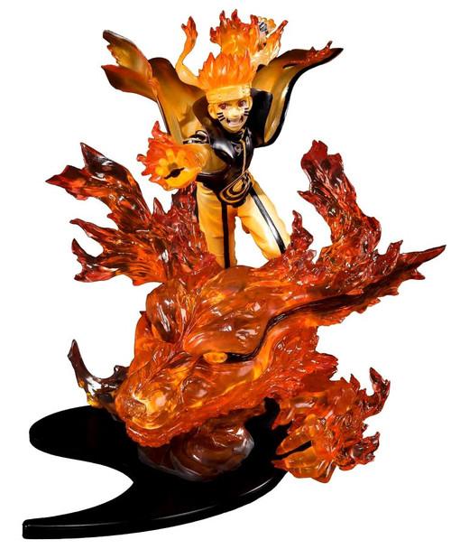 Naruto Shippuden Figuarts ZERO Naruto Uzumaki 8.3-Inch Statue [Kurama ]