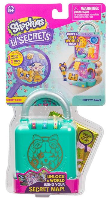 Shopkins Lil' Secrets Series 1 Pretty Paws Mini Playset [Secret Lock]