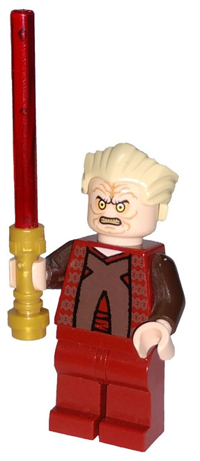 LEGO Star Wars Episode 3 Chancellor Palpatine Minifigure [Dark Red Outfit Loose]