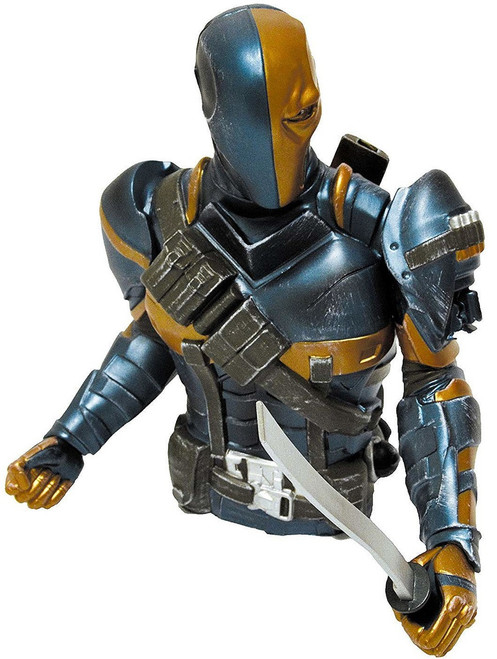 Batman Deathstroke Exclusive Bust Bank