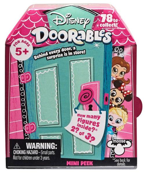 Disney Doorables Series 1 MINI Peek Mystery Pack [2 or 3 Figures]