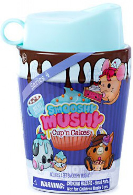 Smooshy Mushy Cups 'n Cakes Smooshy Surprises! Series 4 TEAL Mystery Pack