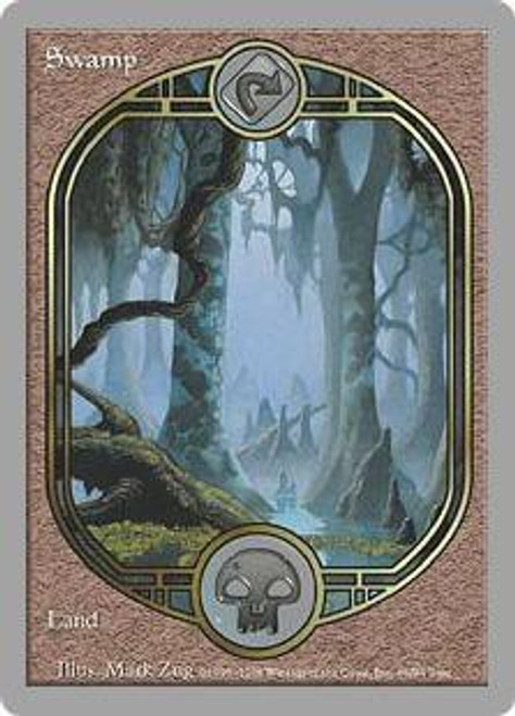 MtG Unglued Common Swamp [Played]
