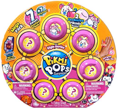 Pikmi Pops Surprise! Style Series Marshmallow Mega Pack [7 Plush + 7 Surprises!]