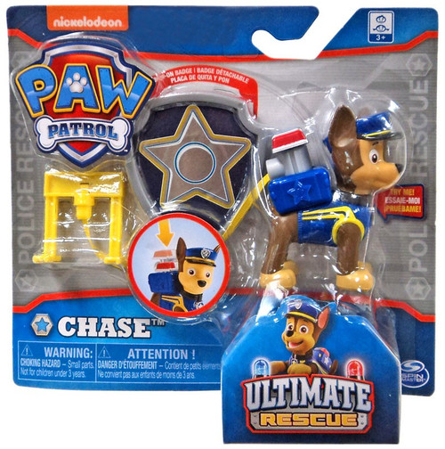Paw Patrol Ultimate Rescue Chase Exclusive Figure [Badge]