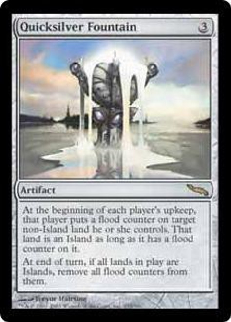 MtG Mirrodin Rare Foil Quicksilver Fountain #233