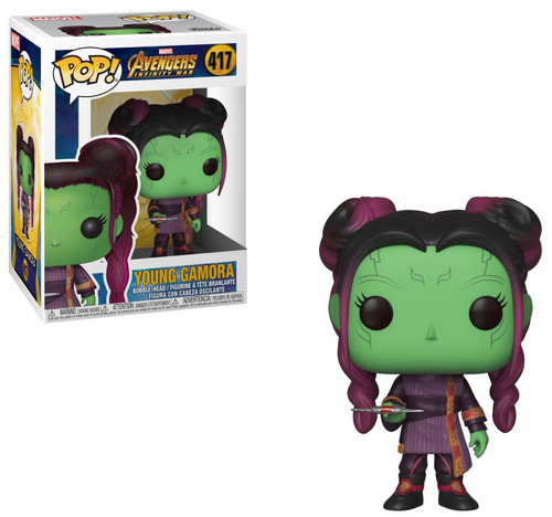Funko Avengers Infinity War POP! Marvel Young Gamora Vinyl Bobble Head #417 [with Dagger]